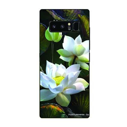 Ốp lưng cứng viền dẻo dành cho điện thoại samsung galaxy note 9 - đủ nắng thì hoa nở ms dnthn025