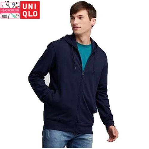Áo cotton chống uv 2019 uniqlo nhật bản mới nhất - 69 navy