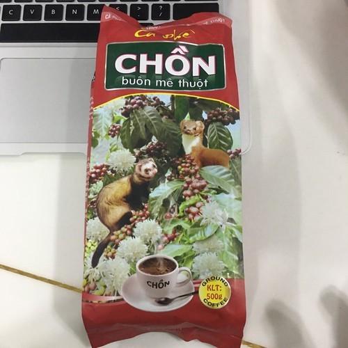 Cà phê pha phin truyền thống chồn buôn mê thuộc của công ty cao đại nguyên thượng hạng 500gr
