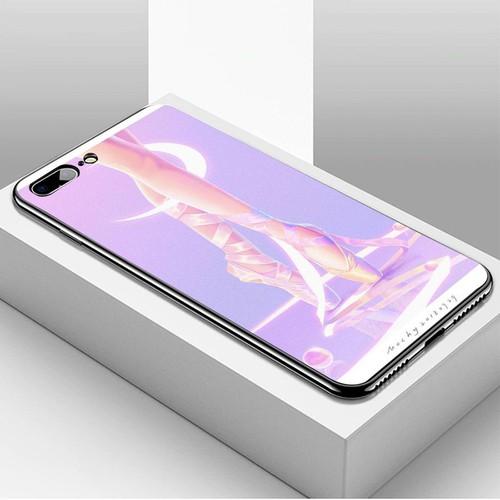 Ốp điện thoại dành cho máy iphone 7 plus  -  8 plus - ánh trăng nghệ thuật ms trang002