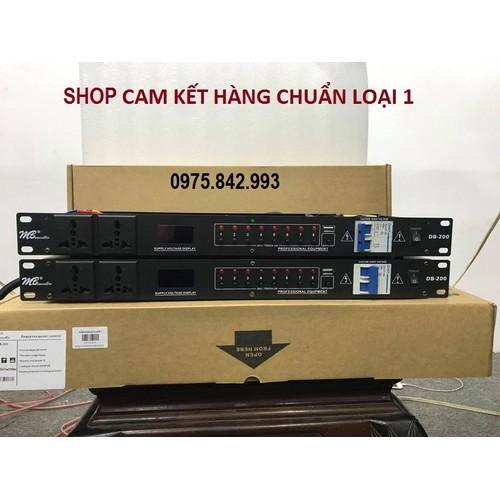 Bộ chia nguồn mb audio db 200-có cầu giao-10 cổng cắm âm thanh-hàng mới -bh 12 tháng