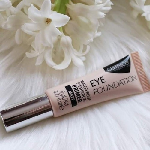 Kem lót mắt catrice eye foundation waterproof eyeshadow primer matt 8ml