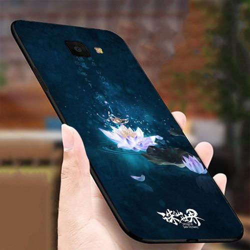 Ốp lưng cứng viền dẻo dành cho điện thoại Samsung Galaxy J4 PLUS - J4 CORE - Đủ nắng thì hoa nở MS DNTHN030
