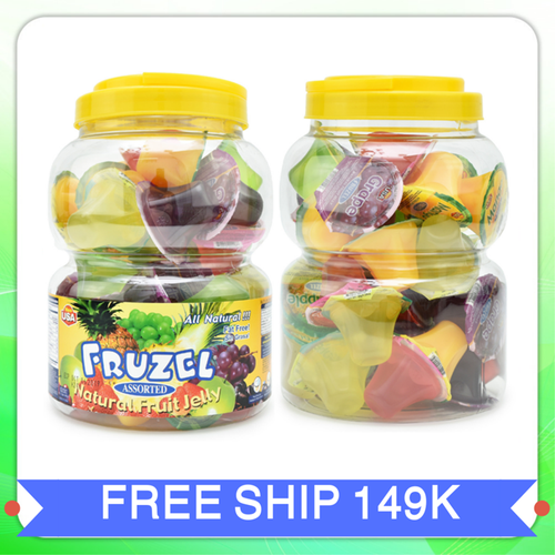 Rau câu fruzel natural fruit jelly hương trái cây|rau cau fruzel xuất xứ mỹ 1,45kg 38 viên - 13113000 , 21184476 , 15_21184476 , 295000 , Rau-cau-fruzel-natural-fruit-jelly-huong-trai-cayrau-cau-fruzel-xuat-xu-my-145kg-38-vien-15_21184476 , sendo.vn , Rau câu fruzel natural fruit jelly hương trái cây|rau cau fruzel xuất xứ mỹ 1,45kg 38 viên
