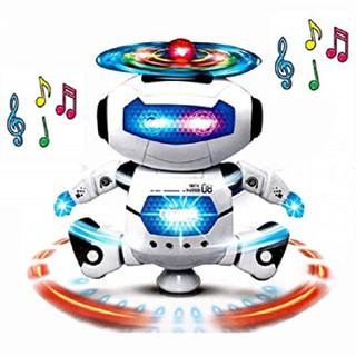 Đồ Chơi - Đồ Chơi Ro Bot Xoay 360 - Đồ chơi robot xoay 360 thumbnail