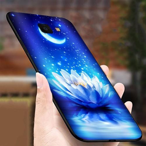 Ốp lưng cứng viền dẻo dành cho điện thoại Samsung Galaxy J4 PRIME - Đủ nắng thì hoa nở MS DNTHN020