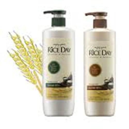 Cặp dầu gội xả riceday cho tóc thường và hư tổn