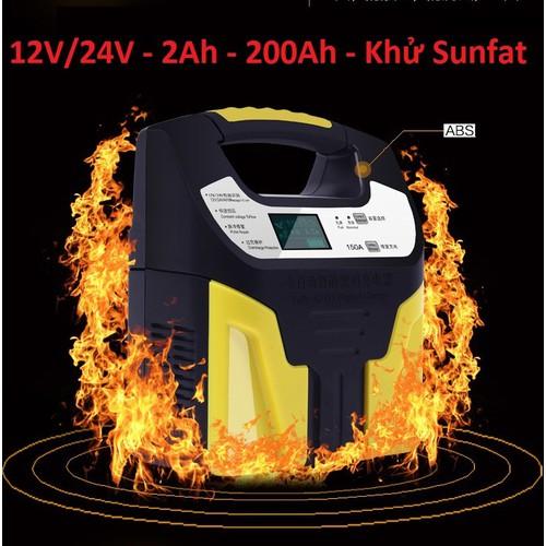 Bộ sạc acquy tự động 12v đến 24v nạp cho acquy từ 3ah đến 200ah -sạc có tạo sung khử sunfat - 13112446 , 21183862 , 15_21183862 , 450000 , Bo-sac-acquy-tu-dong-12v-den-24v-nap-cho-acquy-tu-3ah-den-200ah-sac-co-tao-sung-khu-sunfat-15_21183862 , sendo.vn , Bộ sạc acquy tự động 12v đến 24v nạp cho acquy từ 3ah đến 200ah -sạc có tạo sung khử sunf