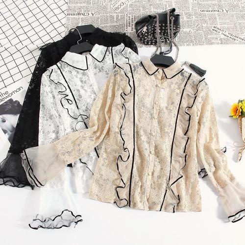 Áo ren nữ siêu bánh bèo áo kiểu nữ xinh xắn sang chảnh - 13133750 , 21212878 , 15_21212878 , 440000 , Ao-ren-nu-sieu-banh-beo-ao-kieu-nu-xinh-xan-sang-chanh-15_21212878 , sendo.vn , Áo ren nữ siêu bánh bèo áo kiểu nữ xinh xắn sang chảnh