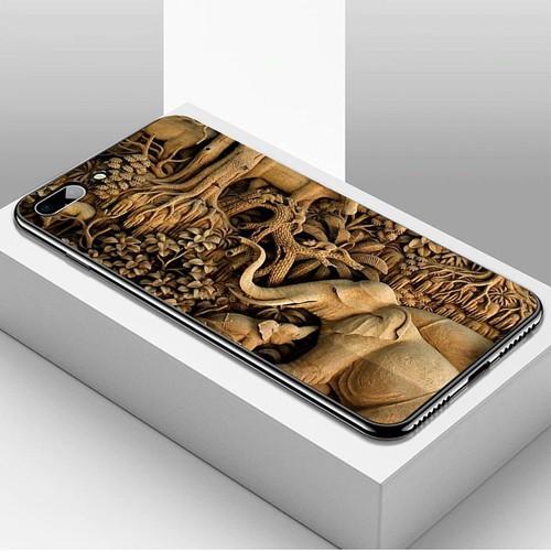 Ốp lưng điện thoại iphone 7 plus  -  8 plus - hình điêu khắc ms dkhac030
