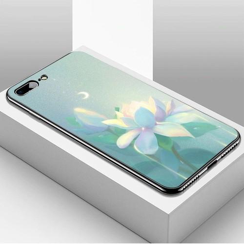 Ốp lưng điện thoại iphone 7 plus  -  8 plus - ánh trăng nghệ thuật ms trang004