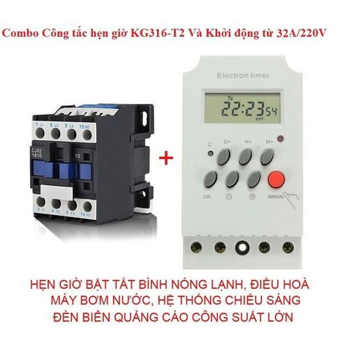 Công tắc hẹn giờ kg316t2 và khởi động từ 32a - 13152530 , 21237640 , 15_21237640 , 280000 , Cong-tac-hen-gio-kg316t2-va-khoi-dong-tu-32a-15_21237640 , sendo.vn , Công tắc hẹn giờ kg316t2 và khởi động từ 32a