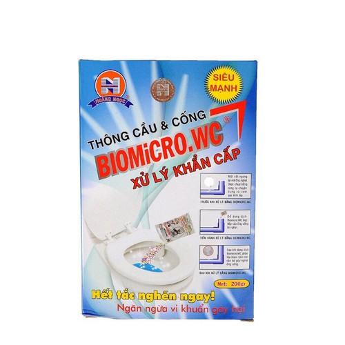 Hộp thông cầu và cống biomicro.wc - xử lý khẩn cấp