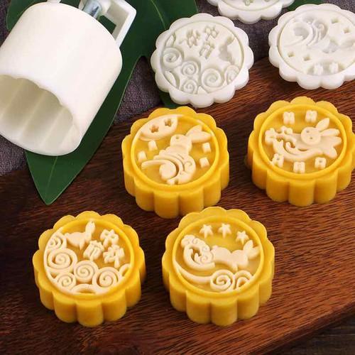 Bộ khuôn tạo hình bánh trung thu mẫu con thỏ 50gr - 13143081 , 21225720 , 15_21225720 , 45000 , Bo-khuon-tao-hinh-banh-trung-thu-mau-con-tho-50gr-15_21225720 , sendo.vn , Bộ khuôn tạo hình bánh trung thu mẫu con thỏ 50gr
