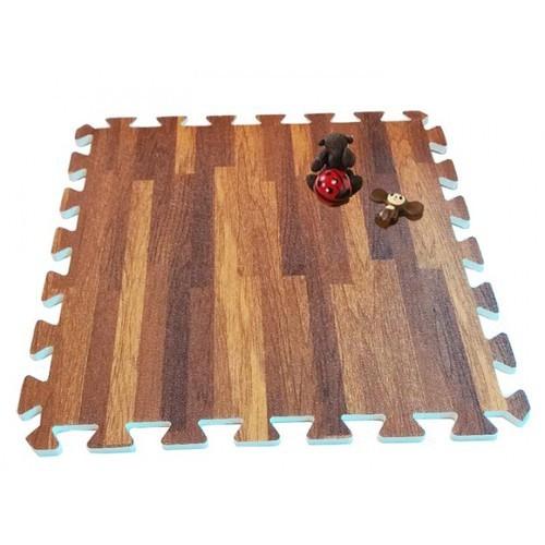 Thảm xốp vân  gỗ cho bé thương hiệu âu lạc