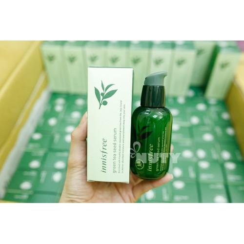 Serum hàn quốc tinh chất thiên nhiên từ trà xanh dung tích 80ml