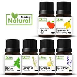 Tinh dầu thiên nhiên lọ 10ml – Táo, Lan Ngọc Tây, Bạc Hà, Sả, Oải Hương từ Beauty as Natural