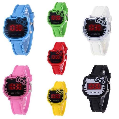 Đồng hồ thời trang trẻ em điện tử led hello kitty - 12720881 , 21226380 , 15_21226380 , 35000 , Dong-ho-thoi-trang-tre-em-dien-tu-led-hello-kitty-15_21226380 , sendo.vn , Đồng hồ thời trang trẻ em điện tử led hello kitty