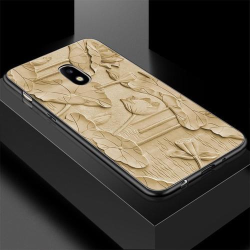 Ốp lưng cứng viền dẻo dành cho điện thoại samsung galaxy a8 2015 - hình điêu khắc ms dkhac035