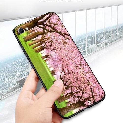 Ốp điện thoại oppo r9s - vườn hoa ms vhoa005