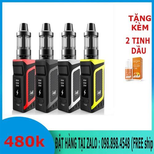 thuốc-lá điện tử 80w siêu khói chính hãng pin liền thân-tặng 2 tinh dầu 10ml-0988984548 - 11386775 , 21268730 , 15_21268730 , 460000 , thuoc-la-dien-tu-80w-sieu-khoi-chinh-hang-pin-lien-than-tang-2-tinh-dau-10ml-0988984548-15_21268730 , sendo.vn , thuốc-lá điện tử 80w siêu khói chính hãng pin liền thân-tặng 2 tinh dầu 10ml-0988984548