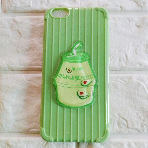 Ốp lưng trà sữa dẻo iphone 6 plus hoặc iphone 6s plus