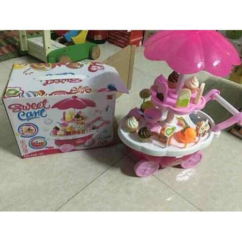 Bộ đồ chơi xe đẩy kem
