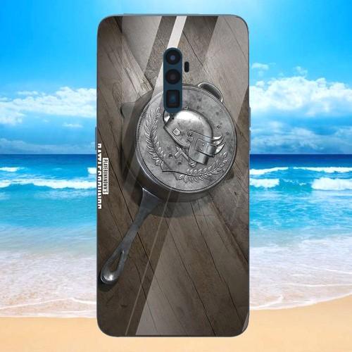 Ốp kính cường lực cho điện thoại oppo reno - pubg mobile di động ms pubg080