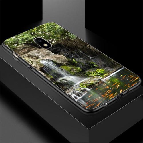 Ốp lưng cứng viền dẻo dành cho điện thoại samsung galaxy a3 2015 - vườn hoa ms vhoa002