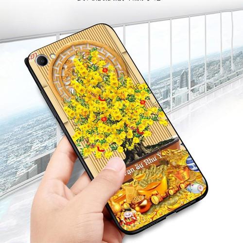 Ốp điện thoại oppo f3 plus - tranh mai đào ms mdao017