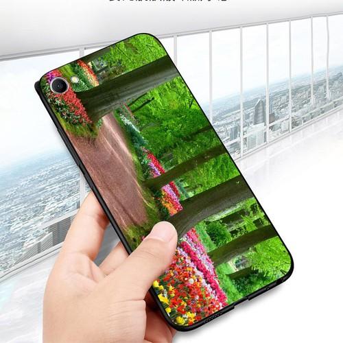 Ốp điện thoại dành cho máy oppo f7 youth  -  realme 1 - vườn hoa ms vhoa032