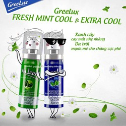 Xịt thơm miệng Greelux chai 12ml