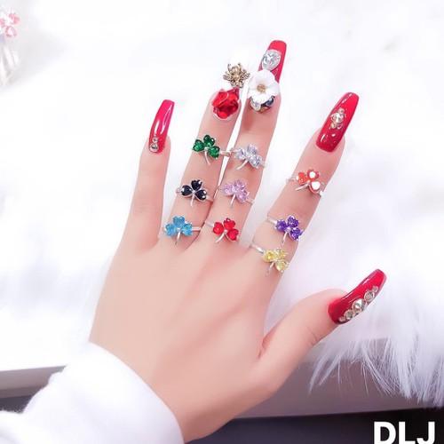 Nhẫn nữ bạc ta nhẫn cỏ 3 lá đủ màu siêu rẻ - 13181530 , 21276839 , 15_21276839 , 165000 , Nhan-nu-bac-ta-nhan-co-3-la-du-mau-sieu-re-15_21276839 , sendo.vn , Nhẫn nữ bạc ta nhẫn cỏ 3 lá đủ màu siêu rẻ
