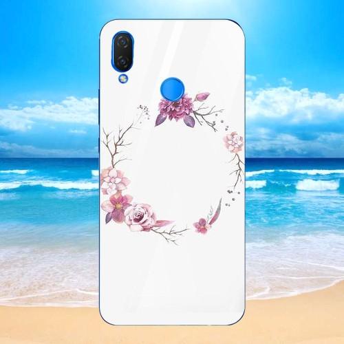 Ốp kính cường lực cho điện thoại huawei y9 2019 - nốt nhạc trái tim ms nntt005