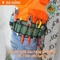 Đai đeo đồ nghề thợ điện Berylion654