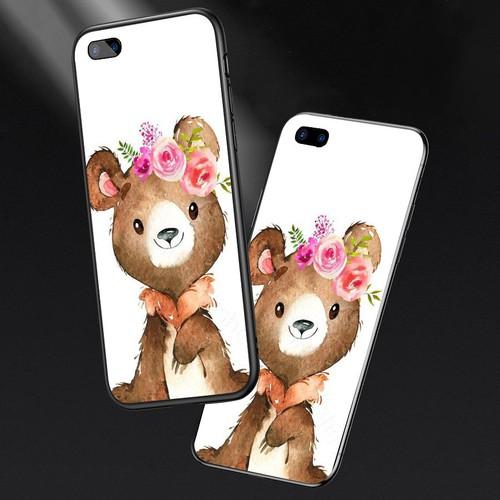 Ốp lưng cứng viền dẻo dành cho điện thoại oppo a5 - a3s - dễ thương muốn xỉu ms cute048