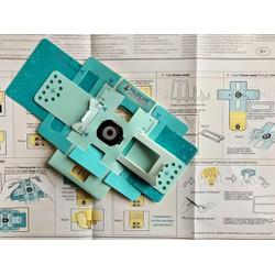 Bộ Kính Hiển Vi Giấy Foldscope Basic