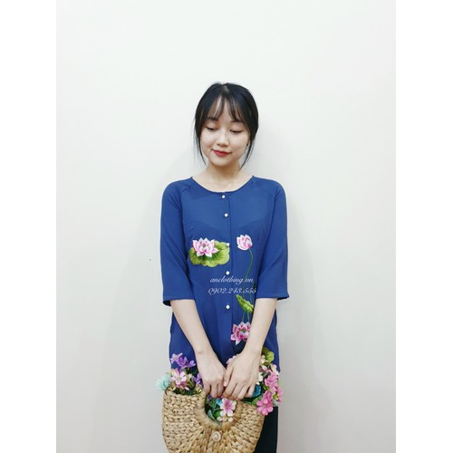 Bộ quần áo lam đi lễ chùa thời trang phật tử tiệm an cao cấp - 13177868 , 21272447 , 15_21272447 , 485000 , Bo-quan-ao-lam-di-le-chua-thoi-trang-phat-tu-tiem-an-cao-cap-15_21272447 , sendo.vn , Bộ quần áo lam đi lễ chùa thời trang phật tử tiệm an cao cấp