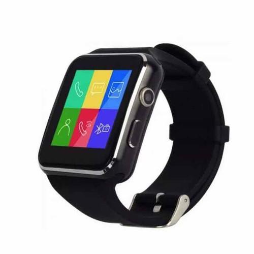 Đồng hồ thông minh màn hình cong x6 màu đen - 13178034 , 21272626 , 15_21272626 , 260000 , Dong-ho-thong-minh-man-hinh-cong-x6-mau-den-15_21272626 , sendo.vn , Đồng hồ thông minh màn hình cong x6 màu đen