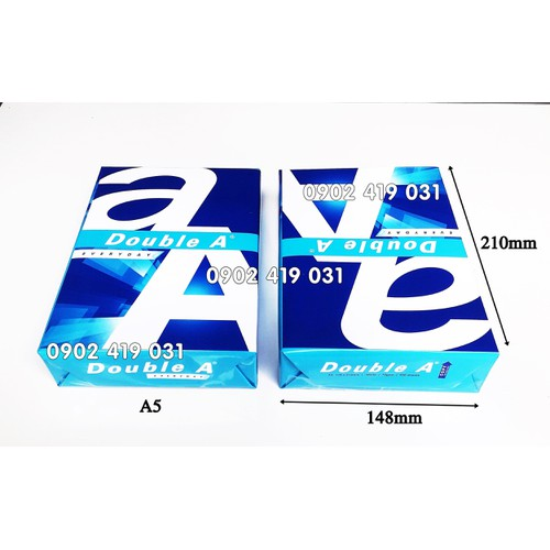 Giấy double a a5 - 70gsm [ giấy cao cấp 500 sheets-ream ] - 12294987 , 21214653 , 15_21214653 , 36000 , Giay-double-a-a5-70gsm-giay-cao-cap-500-sheets-ream--15_21214653 , sendo.vn , Giấy double a a5 - 70gsm [ giấy cao cấp 500 sheets-ream ]