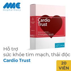 Cardio Trust hỗ trợ tim mạch