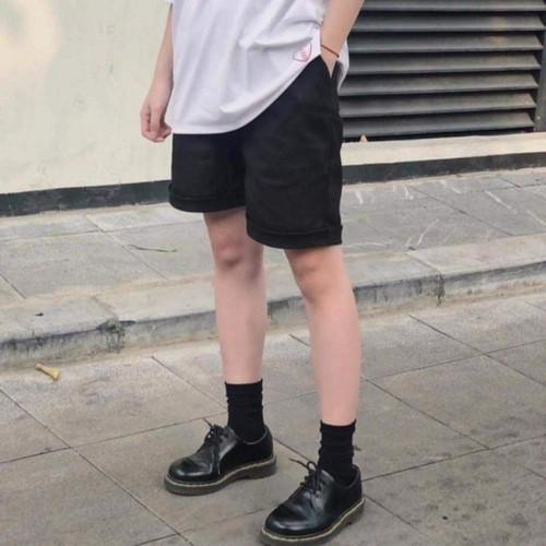 Quần short nam vải kaki