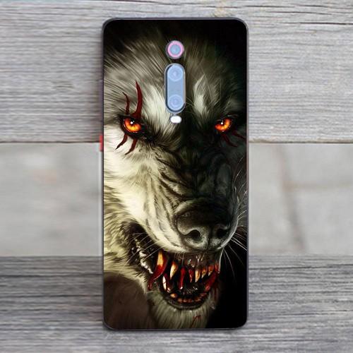 Ốp điện thoại dành cho máy Xiaomi Redmi K20 Pro - sói hú MS SHD005