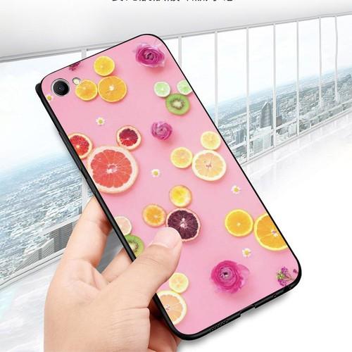 Ốp điện thoại dành cho máy oppo a71 - hoa quả ms hq016