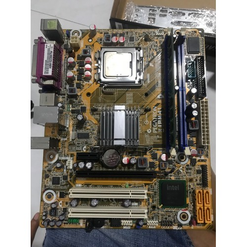 combo main g41 cpu e7500 ram 2gb