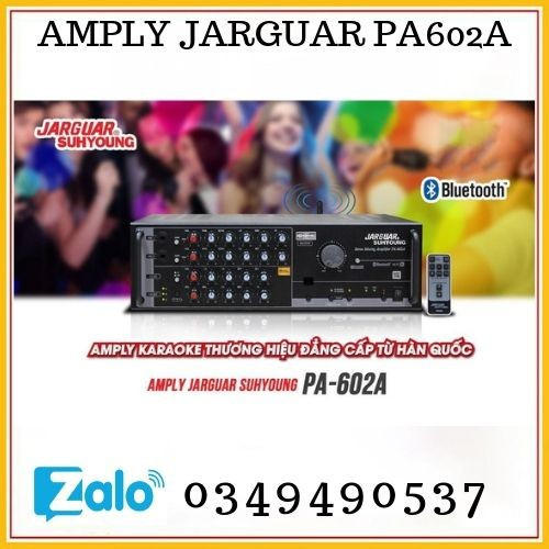 Amply bluetooth jarguar suhyoung pa-602a - hàng chính hãng - 13197273 , 21298872 , 15_21298872 , 9100000 , Amply-bluetooth-jarguar-suhyoung-pa-602a-hang-chinh-hang-15_21298872 , sendo.vn , Amply bluetooth jarguar suhyoung pa-602a - hàng chính hãng