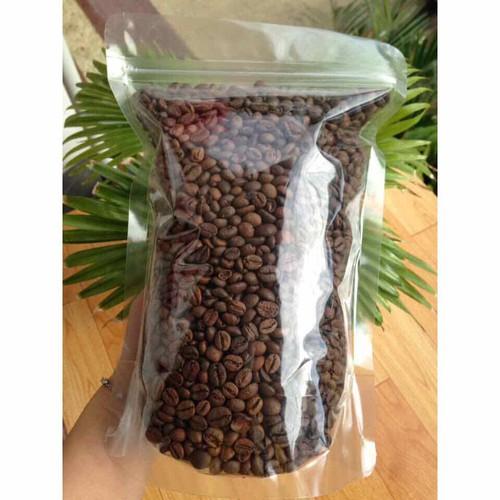 Cà phê robusta rang mộc bằng củi cà phê