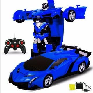 Ô tô biến hình - ô tô đồ chơi biến hình - đồ chơi thumbnail