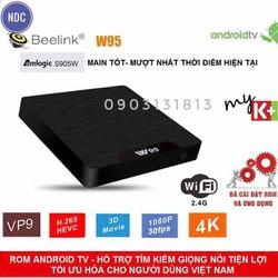 AndroidTV Box Beelink W95, S905W, Ram2G, Rom16G, Giọng Nói Chuột Bay G10s G20s