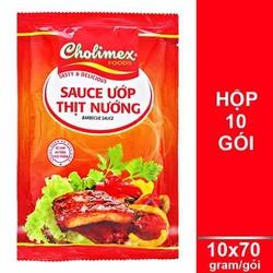 xốt ướp thịt nướng cholimex 10 gói x70g